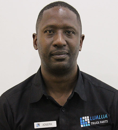 Joseph Jele - Sales Manager - Lualua Truck Parts Zambia