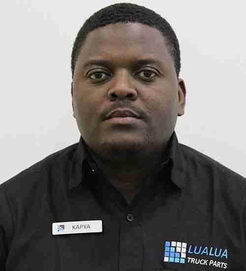 Kapya Mwila - Sales Manager - Lualua Truck Parts Zambia