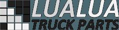 Lualua Truck Parts Logo greyscale